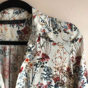 Floral Zara tunic/kaftan